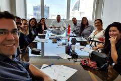 Reunião FECOM e W6 Solutions.