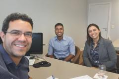 Reunião FECOM e Gerente de Pessoa Jurídica do Banco do Brasil.